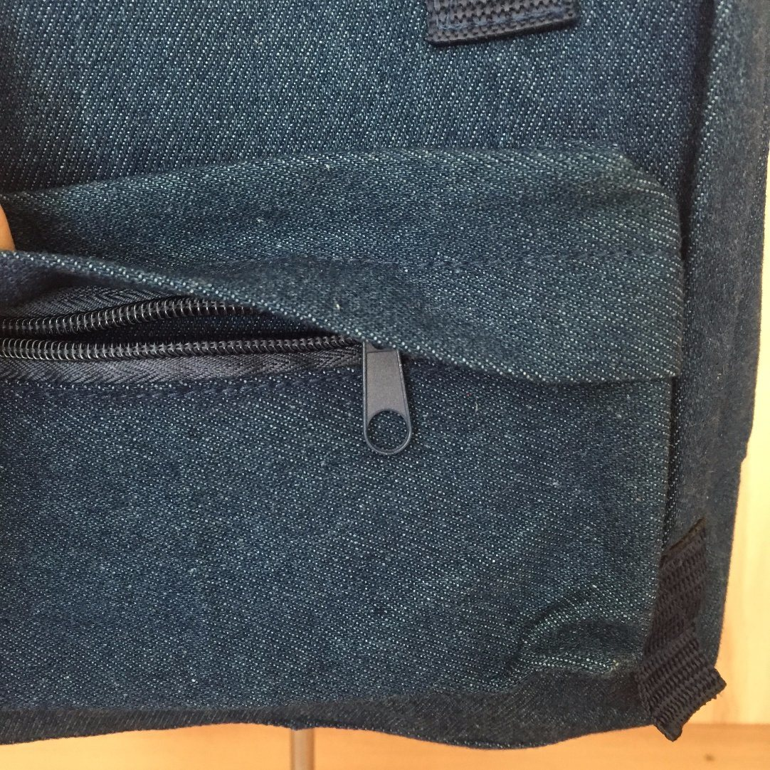 12oz Denim High Quality Backpack for School Children