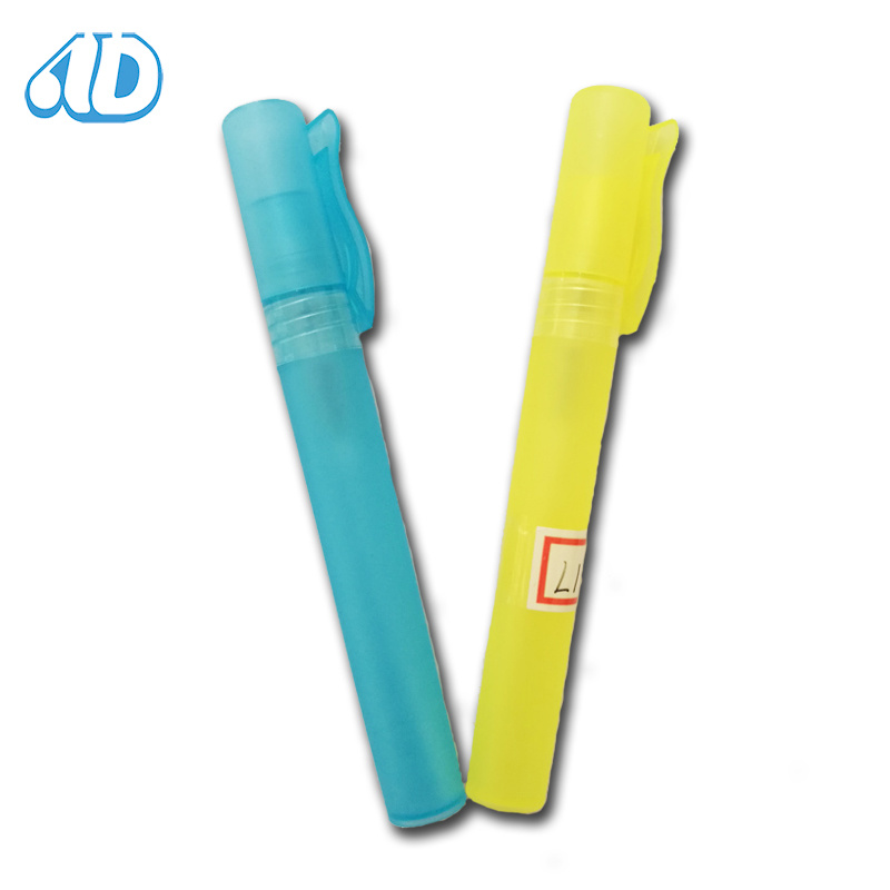 L1 Color Plastics Spray Perfume Vial Bottle 10ml