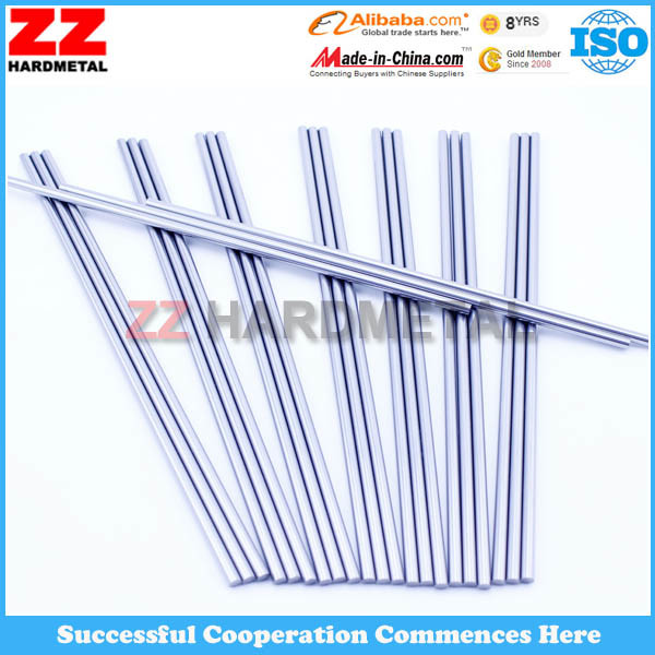 Solid Tungsten Cemented Carbide Sintered Rods with Hole Cemented Carbide Rods