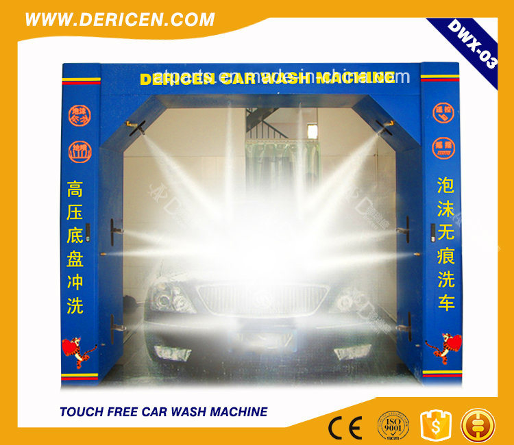 Dericen Dwx3 Hot Selling Automatic Car Washer with Europe Standard