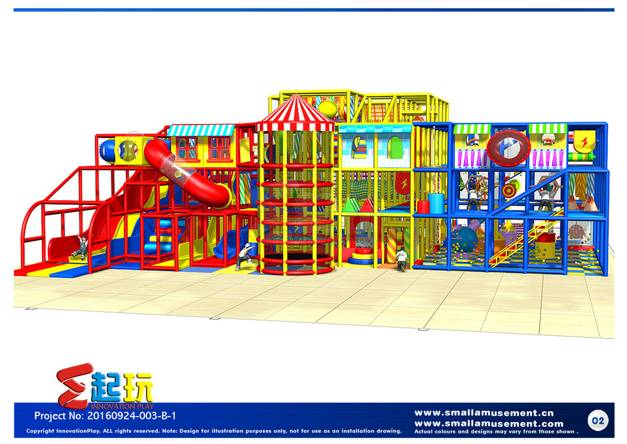 Professional China Indoor Playground Equipment Manufacturer