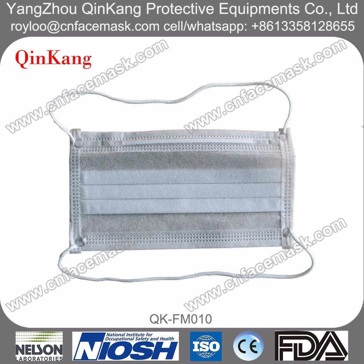 Disposable Nonwoven 3ply Headloop Protective Face Mask
