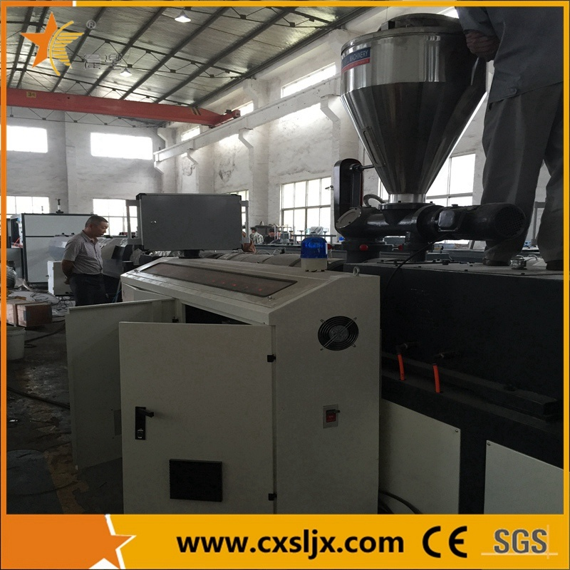 Conical Twin Screw Plastic Extruder for PVC (SJSZ)