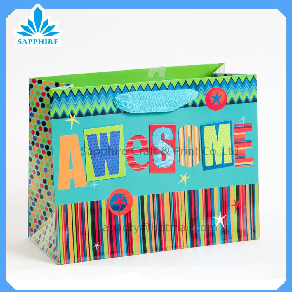 Promotion Gift Paper Bag, Paper Shopping Bag, Printed Paper Bag