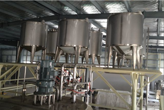 Small Investment Liquid Detergent Products Plant Manufacturing Equipment