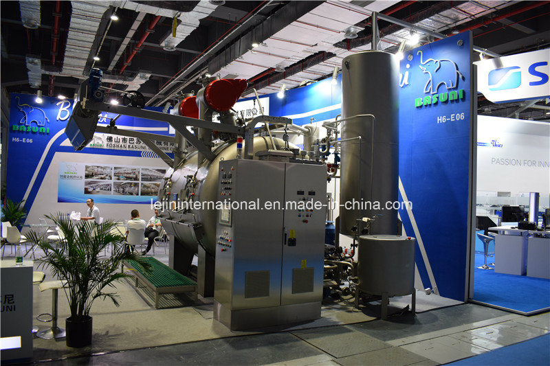 Bsn-OE-3p Ultra-Low Liquor Ratio Ecological Knit Dyeing Machine/ 250kg Capacity