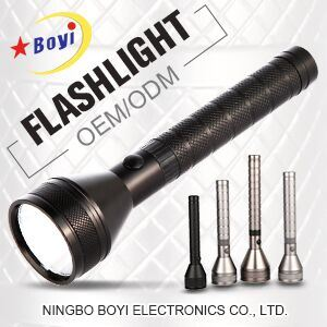 Outdoor Aluminum Rechargeable Torch Light CREE LED Flashlight 3/5/10W
