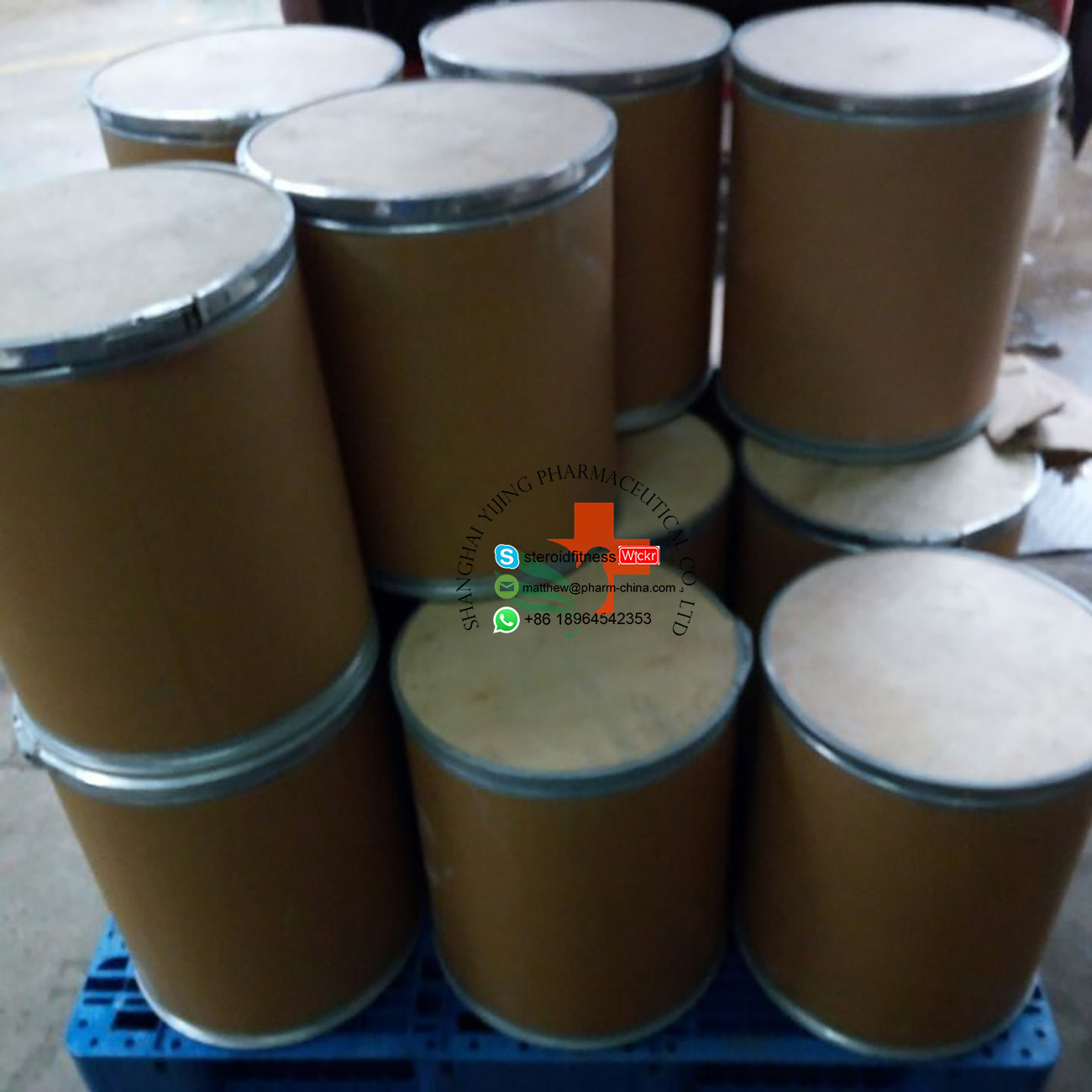 99.9% Purity Local Anesthetic Drug Benzocaine CAS 94-09-7