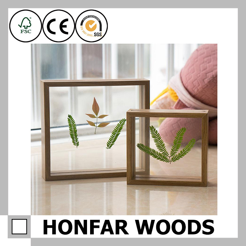 Specimen Box Wooden Shadow Box Frame Wooden Picture Frame