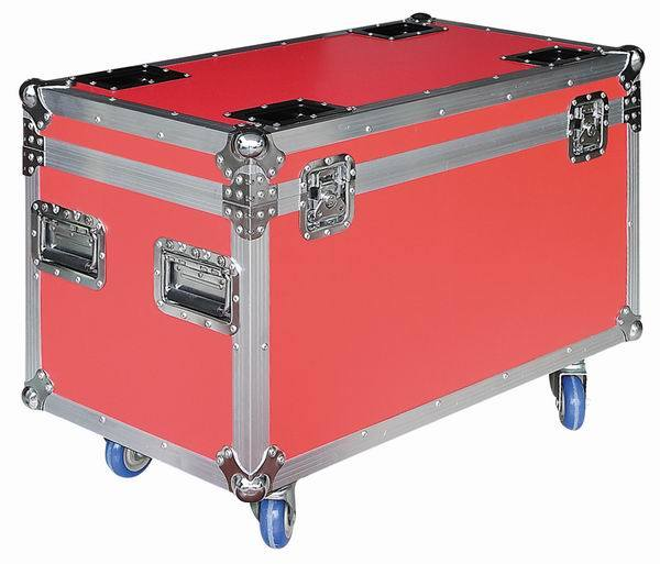 Flight Cable Case with Duty Heavy Casters