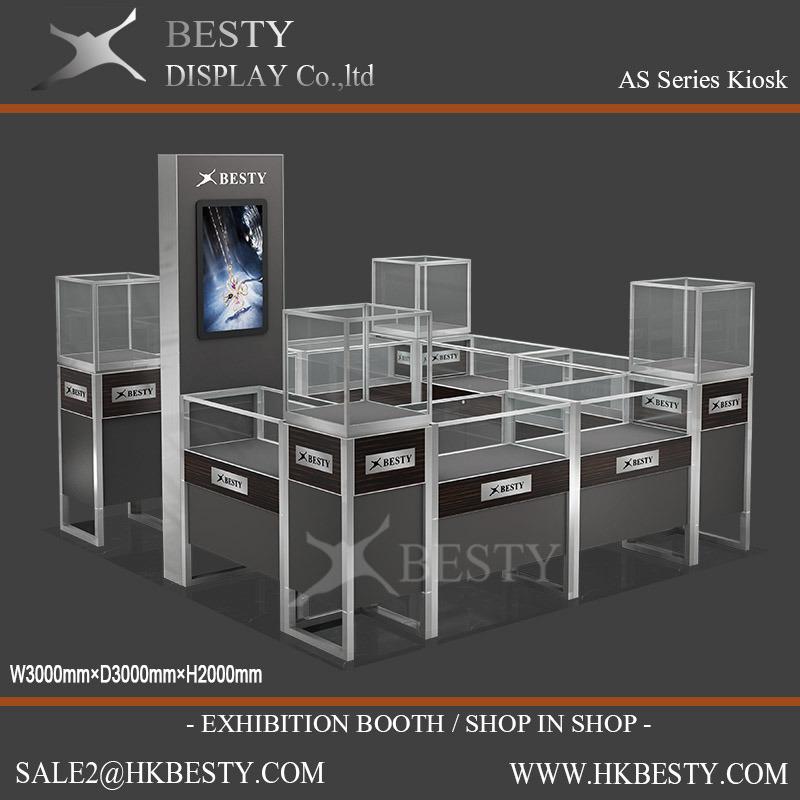 Customized Display Kiosks Island for Shop Fitting