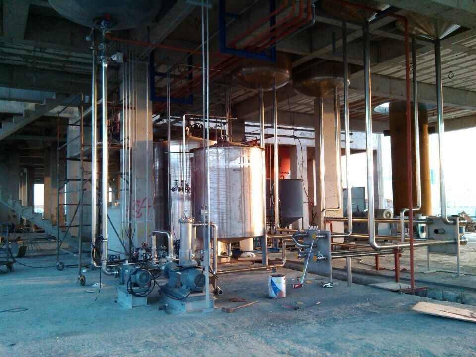 Spray Tower Process Detergent Powder Production Plant Equipment