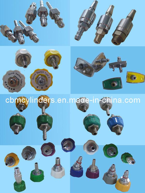 Advanced Medical Gas (O2, Air, VAC, N2O, CO2, N2) Outlet Valves