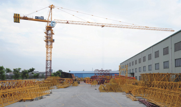 Tip Load Construction Building Machinery Crane