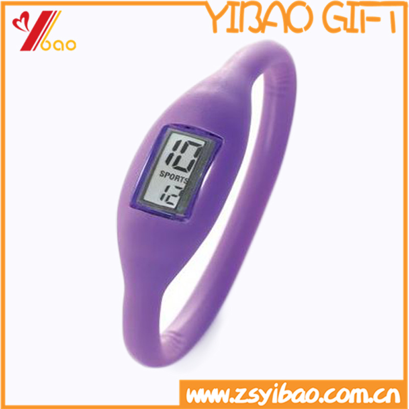 Precision Sport Waterproof Anion Repellent Watch /Wristband Rubber Band Silicone Watch Custom Silicone Bracelet (XY-HR-78)