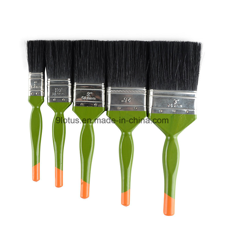 High Quality Plastic Handle Bristles&Wire Paint Brush