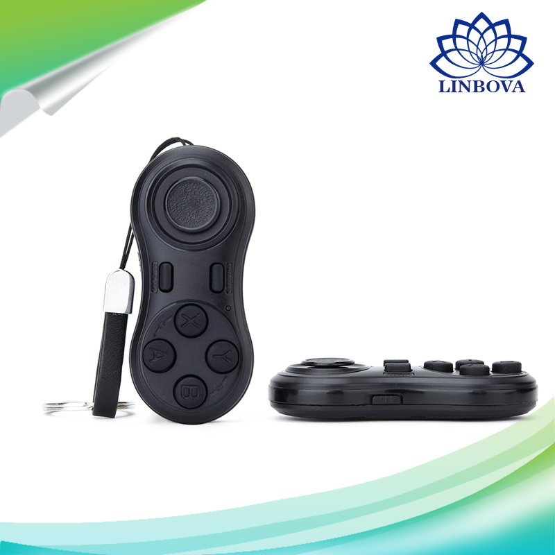 Bluetooth Gamepad Controller Self-Timer Shutter, Music Remote, Mouse Function
