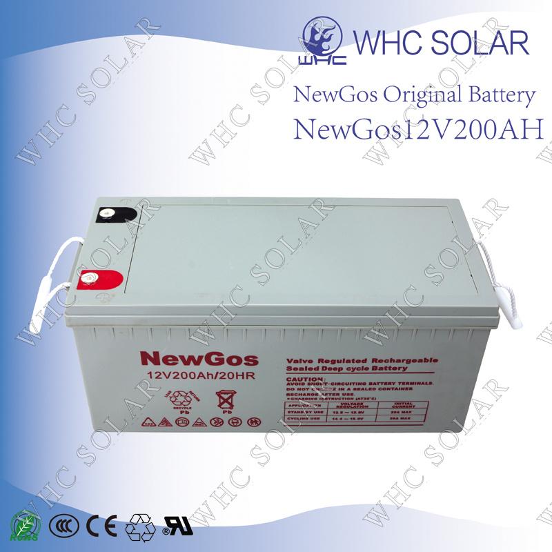 Deep Cycle Lead Acid Battery 12V 200ah Solar Battery
