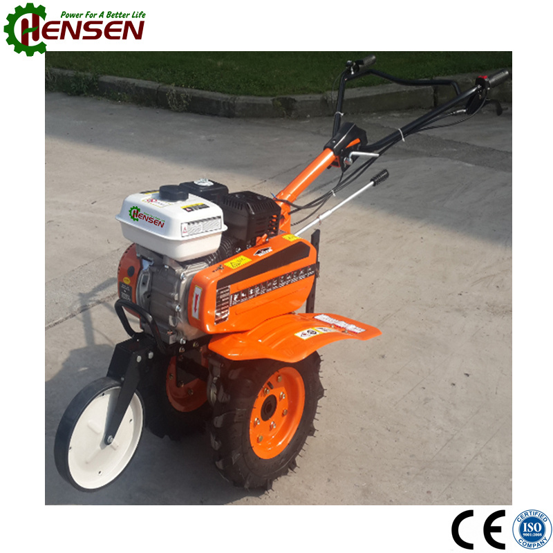 The Most Popular Gasoline Tiller with 6.5HP Gasoline Engine