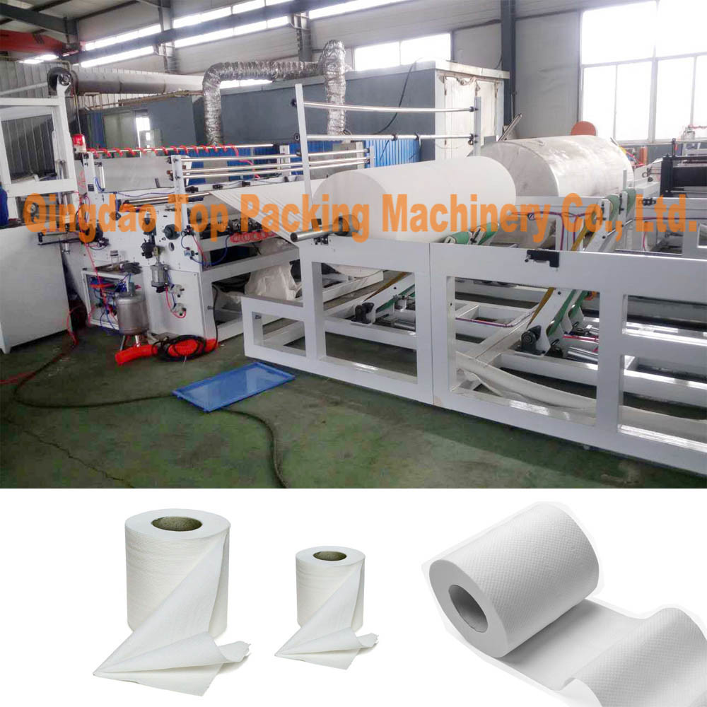 Toilet Paper Rewinder Toilet Paper Towel Making Machine