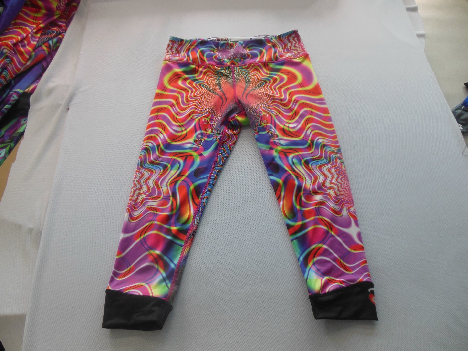 Custom Fashion Sublimation Printed 3XL Yoga Leggings for Women