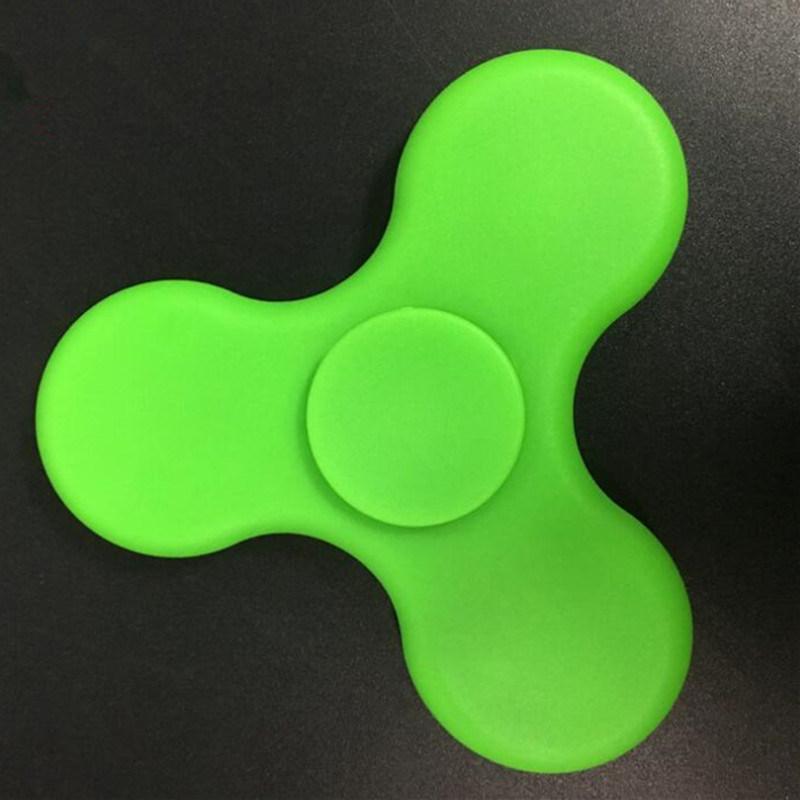 Plastic Gift Toy LED Finger Spinner Hand Spinner Fidget Spinner with Bluetooth Mini Speaker
