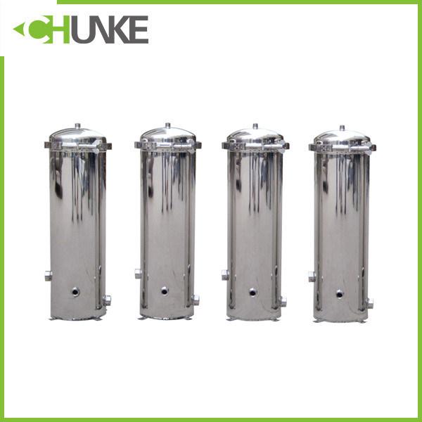"PVC / Ss 20"" PP Cartridge Water Filter Housing Equipment"
