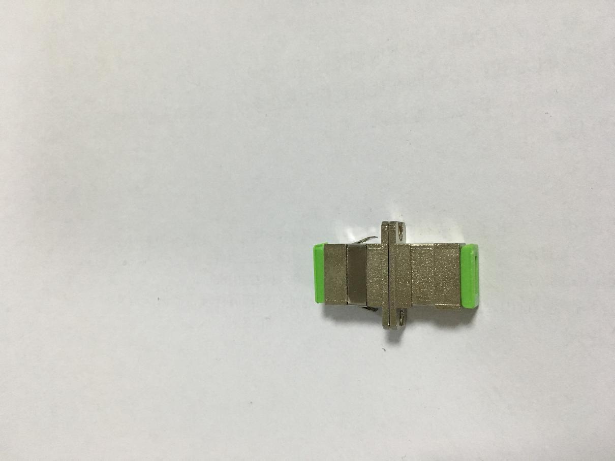 Sc Metal Optic Fiber Adapter