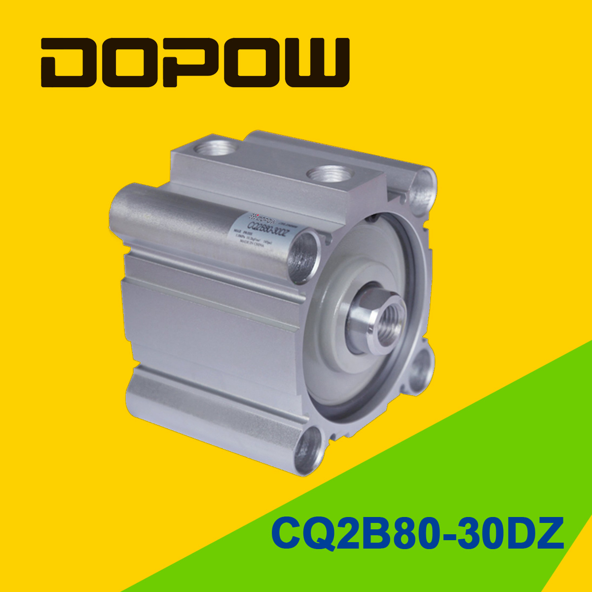 Dopow Series Cq2b80-30 Compact Cylinder Double Acting Basic Type