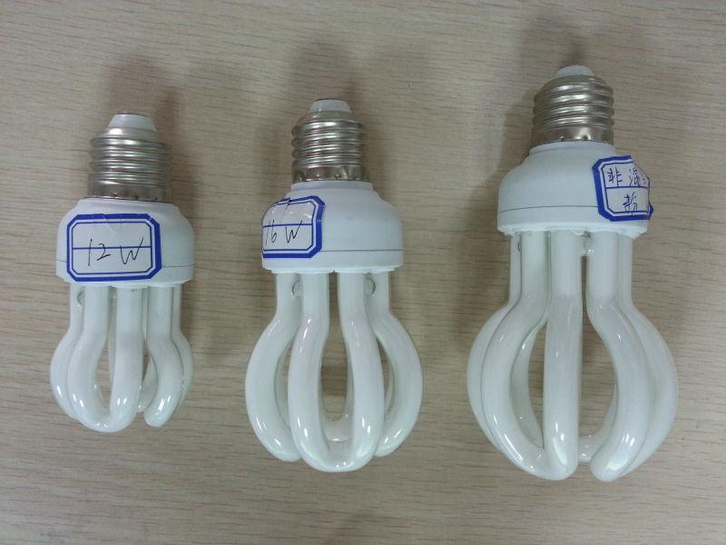 Energy Saving Lamp 65W Lotus Halogen/Mixed/Tri-Color 2700k-7500k E27/B22 220-240V