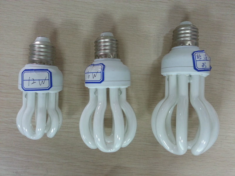 Energy Saving Lamp 65W Lotus Halogen/Mixed/Tri-Color Special Tube Compact Light Bulb