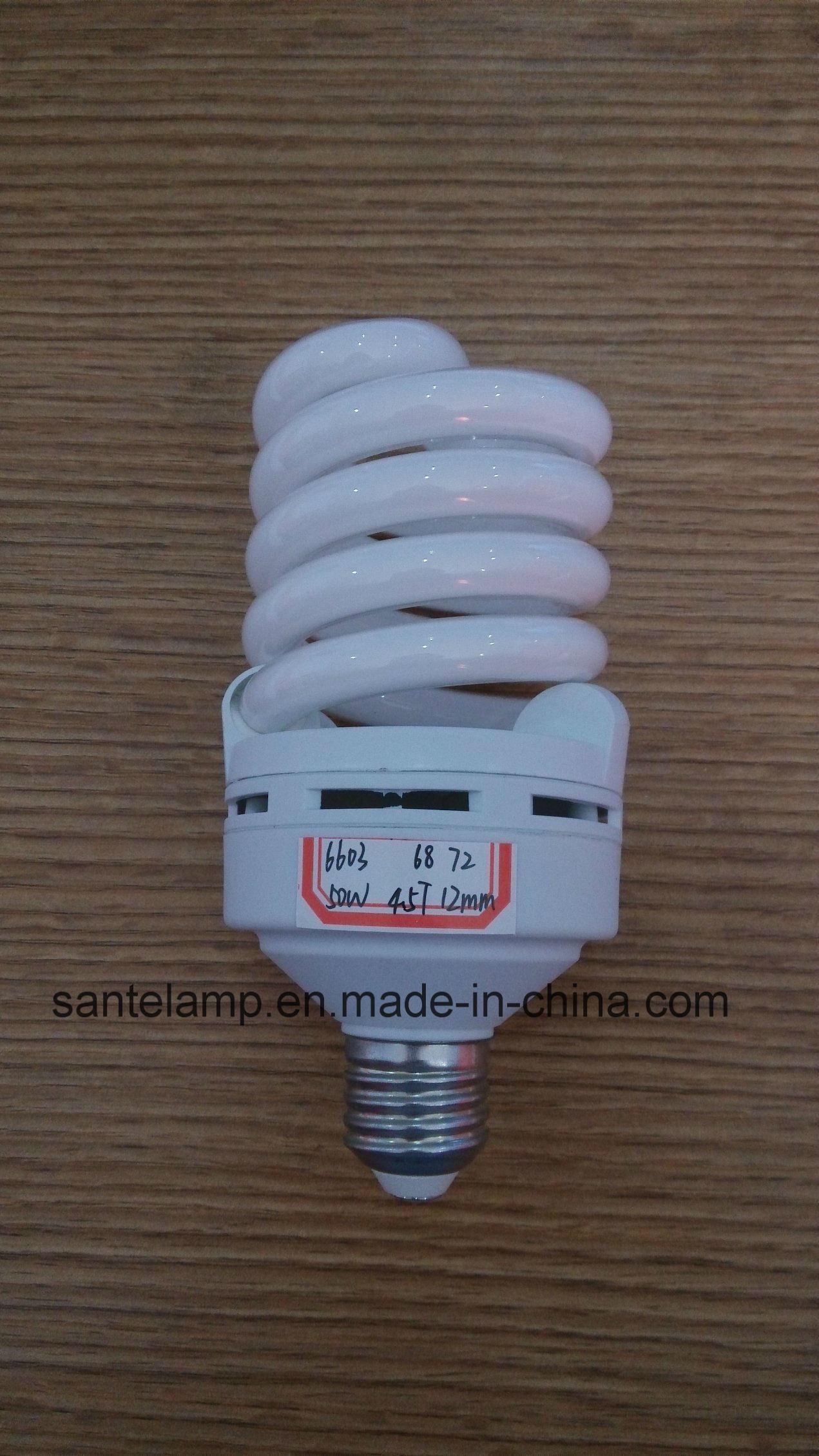Energy Saving Lamp 50W 60W Full Spiral Tri-Color E27/B22 220-240V