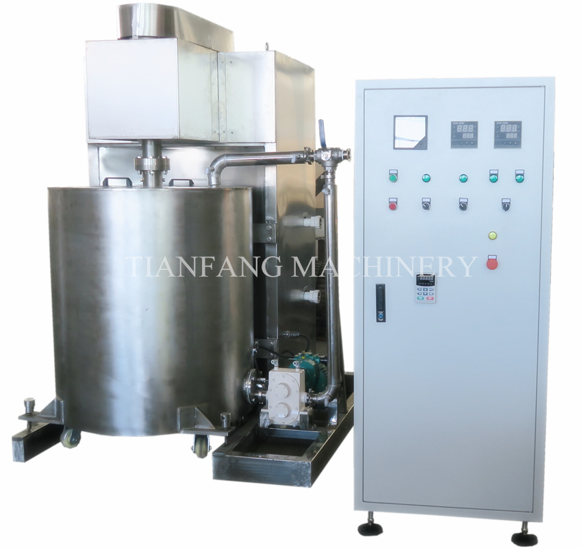 Chocolate Ball Mill Machine (batch type)