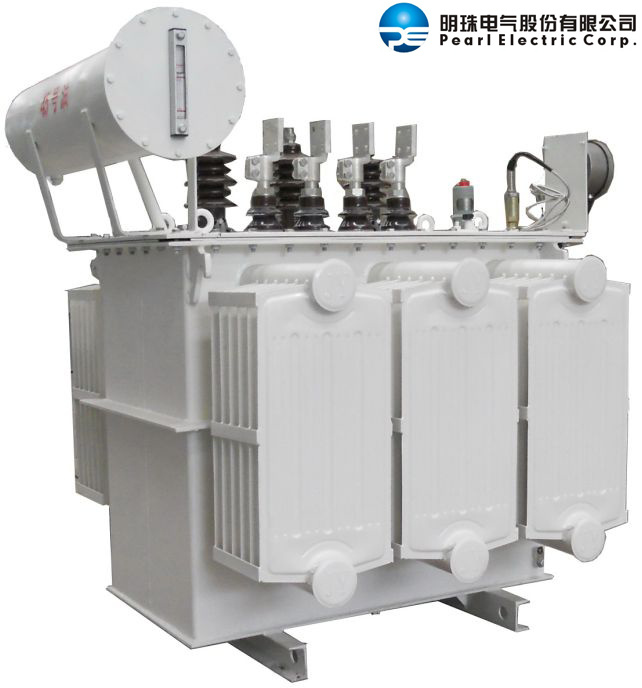 Oil-Immersed Distribution Transformer with Panel-Type Radiator