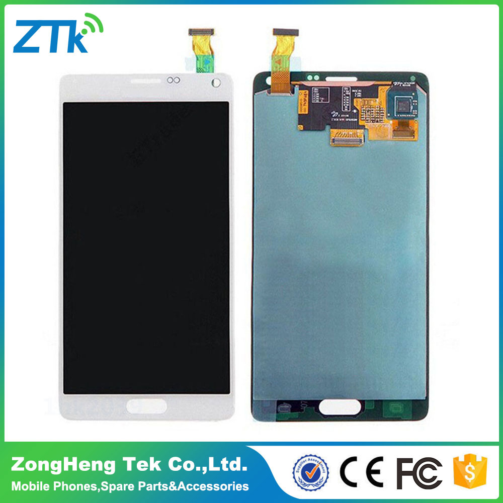 OEM Quality Cell Phone No Dead Pixel LCD Display for Samsung Note 4