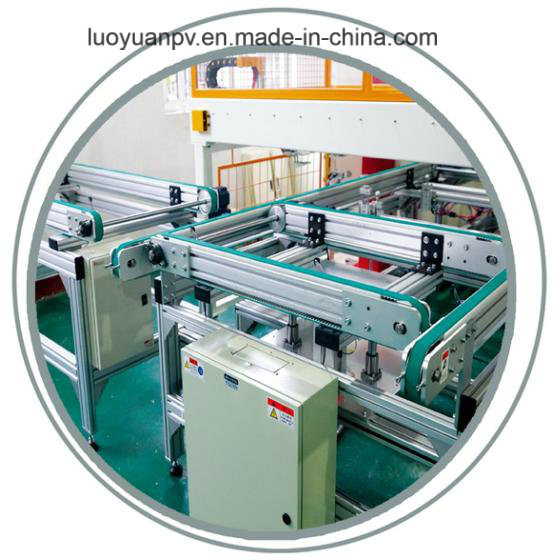 EVA/Tpt Automatic Online Cutting and Laying Machine