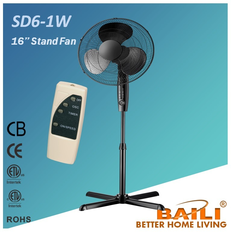 Hot 16′′ Stand Fan with Remote Control