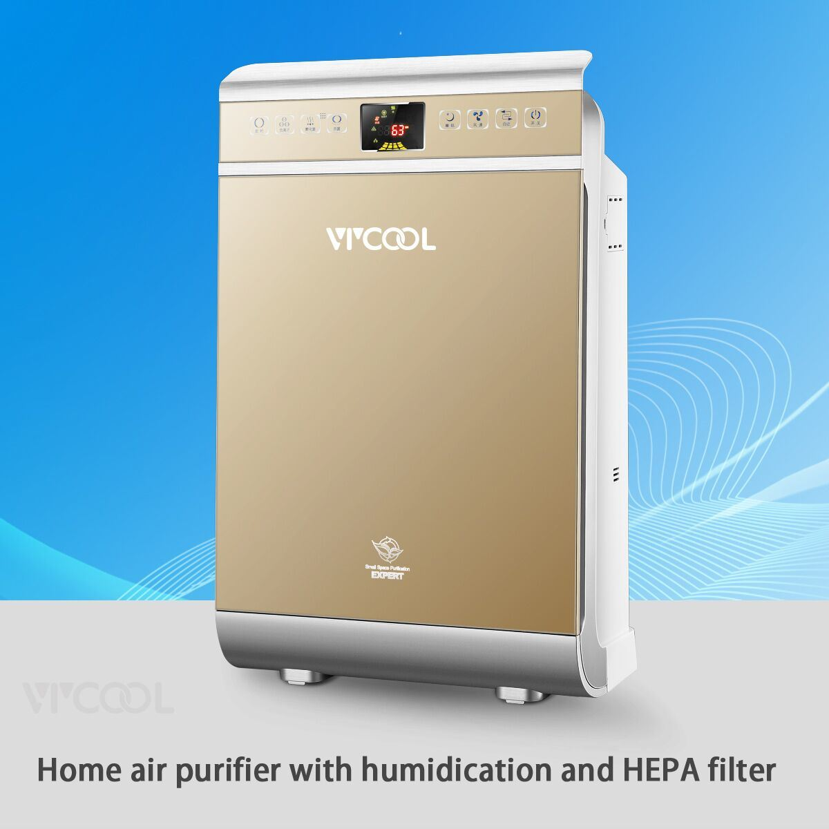 Home Air Purifier HEPA Filter with Humidifier