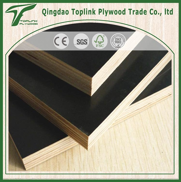 Factory Sale Directly Film Faced Plywood with Red Edges