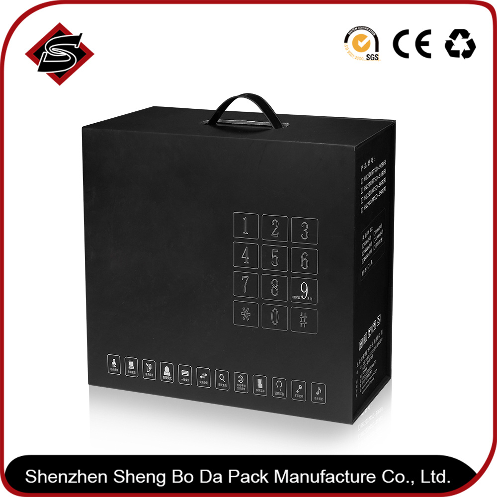 Customized Printing Jewellery Box, Paper Folding Jewelry Box