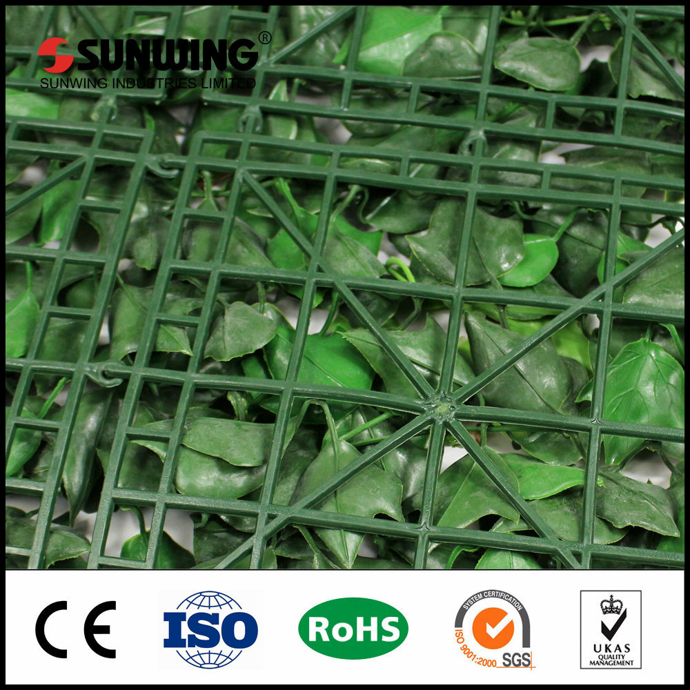 Wholesale Outdoor Artificial Privacy Hedges Artificial Grass IVY Fence