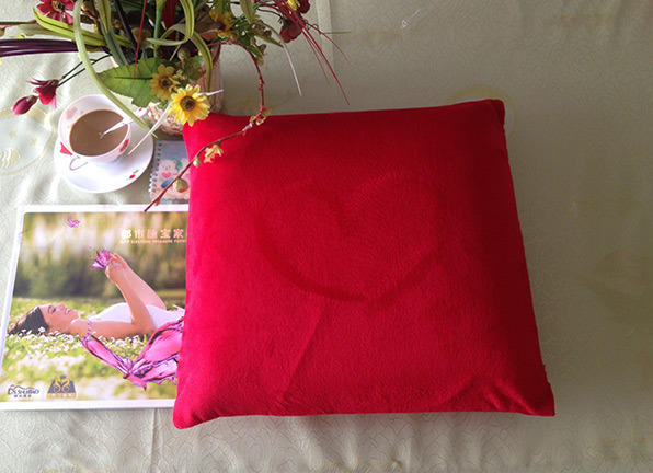 Breathable Ultra-Soft Dunolop Square Shape Latex Seat Cushion