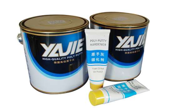 2k Brush Method High Adhesion Polyester Putty for Car