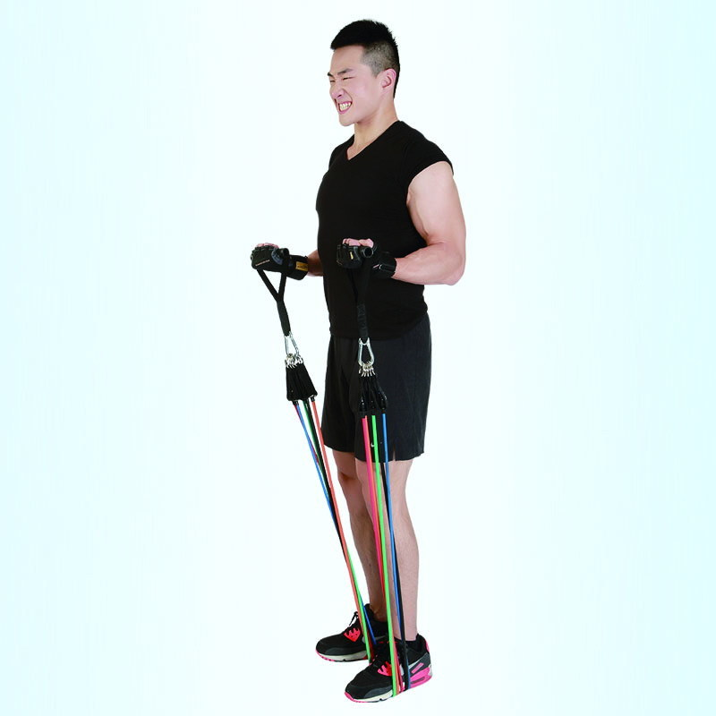 Colorful Power Training Resistance Tubes