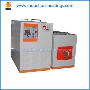 20kw Ultrahigh Frequency Induction Brazing Copper Machine