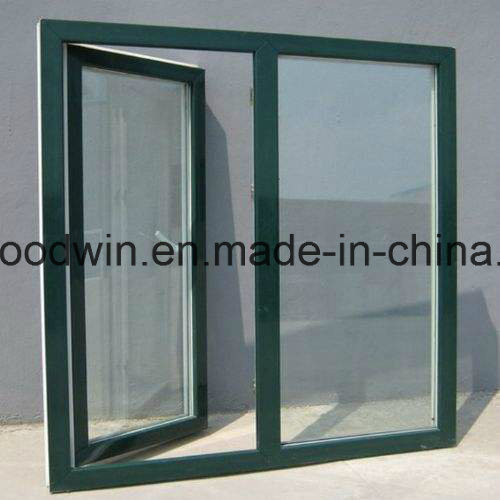 Double Color Thermal Break Aluminum Double Glass Window