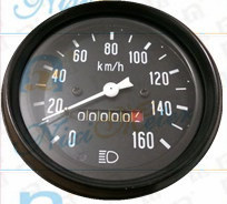 The 0-160 Mechanical Odometer with Mileage