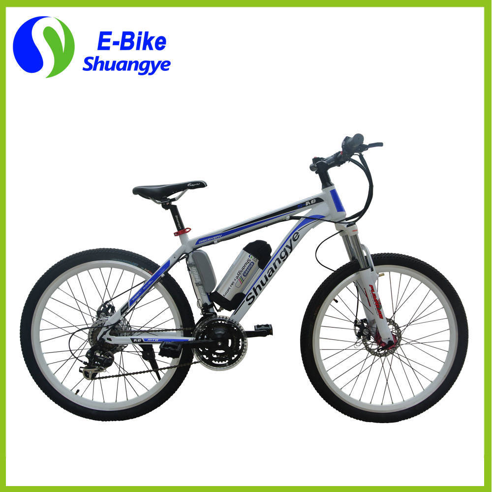 26′′ 36V Lithium Battery Mountain Electric Bike
