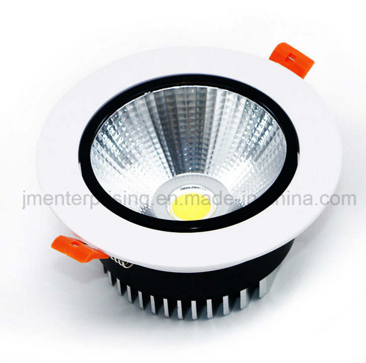 Aluminum Light 18W Lighting COB LED Downlight for Restaurants