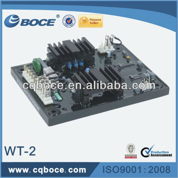 WT-2 Power AC Brushless Generator AVR Automatic Voltage Regulator